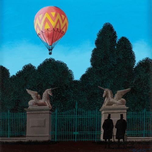Ballooning - Gaston BOGAERT (1918 - 2008)