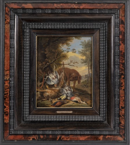 Adrian de Gryef  (1670-1715) - Hunting dogs & The game trophy