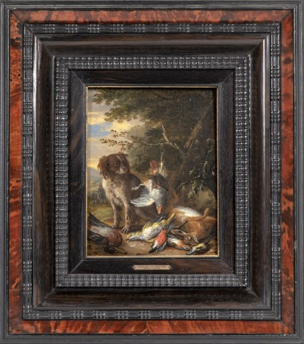 Adrian de Gryef  (1670-1715) - Hunting dogs & The game trophy - Paintings & Drawings Style