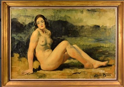 Emile BAES  (1879 - 1954) - Naked lying