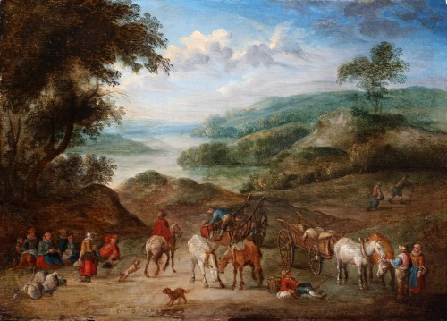 Carriage landscape - Alexander Van BREDAEL