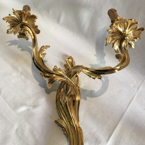 Pair of french Louis XV wall sconces - Louis XV