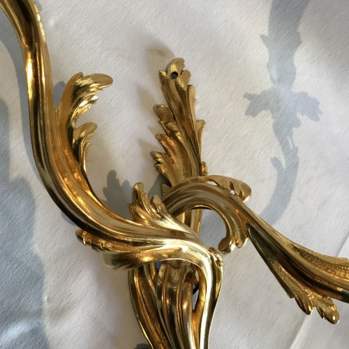 Antiquités - Pair of french Louis XV wall sconces