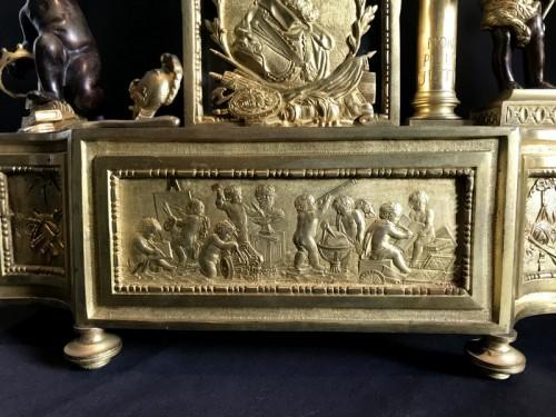 18th century - French Louis XVI gilt bronze clock
