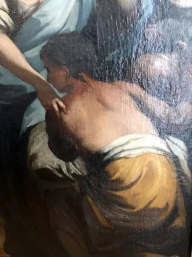 Rebecca at the Fountain - 17th Century Italian School -