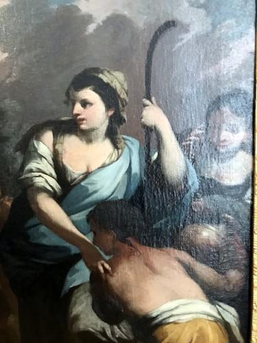 17th century - Rebecca at the Fountain - 17th Century Italian School
