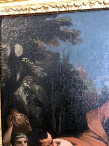 Antiquités - Rebecca at the Fountain - 17th Century Italian School