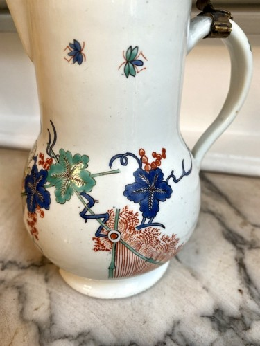Porcelain & Faience  - Pitcher covered in Chantilly porcelain
