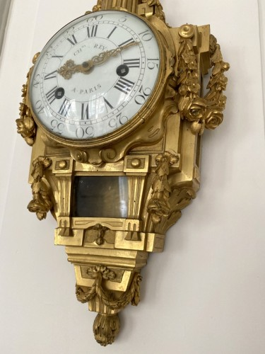 Horology  - Transition wall light in gilded bronze