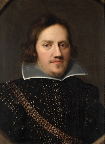 Portrait of a Noble Man - Flemish School, 17th Century