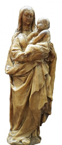 Wax Madonno with child