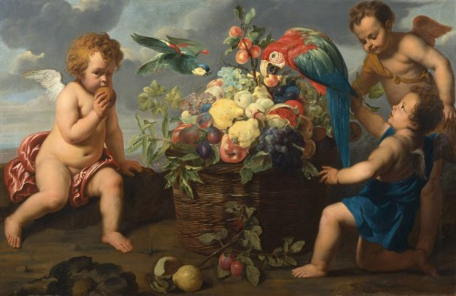 Three Putti - Erasmus II Quellinus