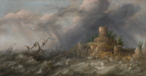 Abraham Willaerts (1603 - 1669 ) - Marine painting