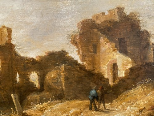 Landscape with figures and ruins - David II Teniers (vers 1675-1690)
