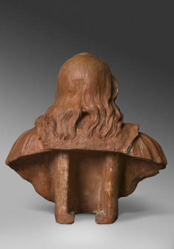 Terracotta bust - Attributed to Rombaut Verhulst - Sculpture Style Louis XIII