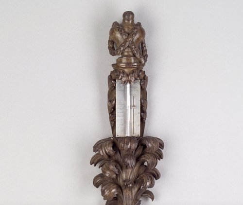 Decorative Objects  - French Louis XVI Mercury Barometer in the Shape of a Palmtree