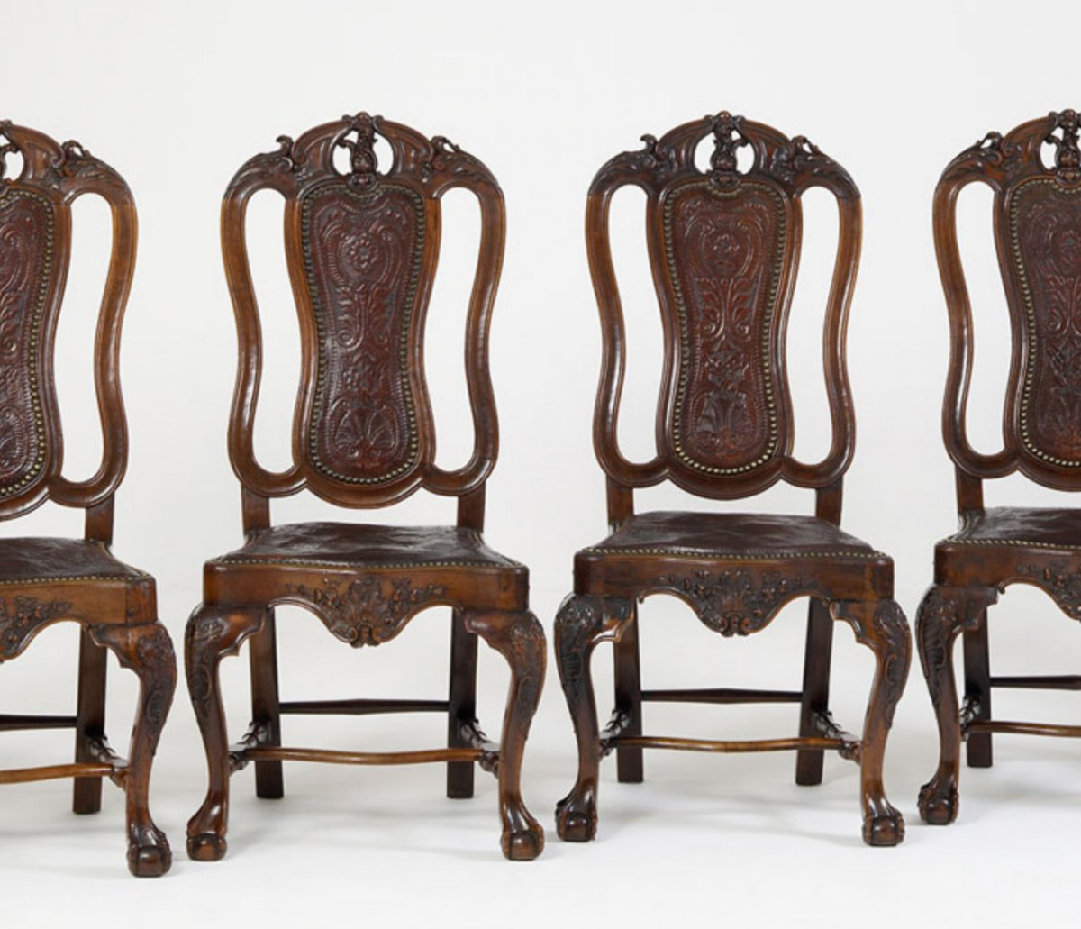 Six Spanish Dining Chairs Ref 63023