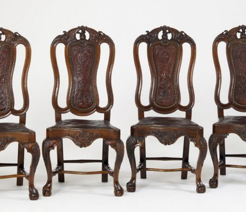 Seating  - Six Spanish Dining-Chairs