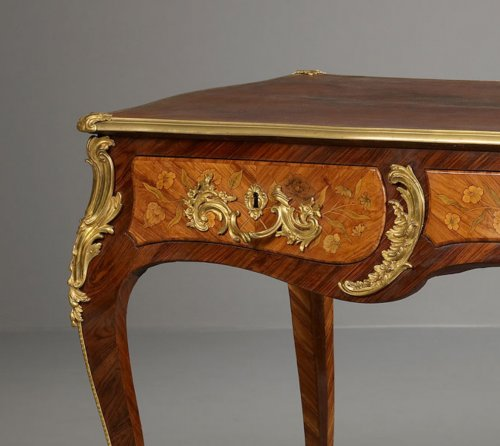 Furniture  - French Louis XV Bureau Plat