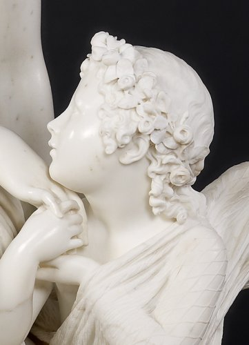 Sculpture  - Cupid Captured by Venus, Giovanni Giuseppe Fontana