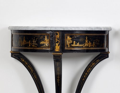 Pair of Dutch Chinoiserie Console Tables - Furniture Style