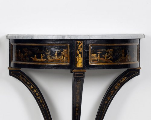 Furniture  - Pair of Dutch Chinoiserie Console Tables