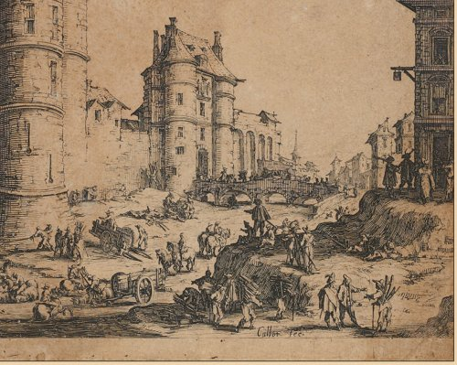 Jacques Callot (1592 - 1635) - Paintings & Drawings Style