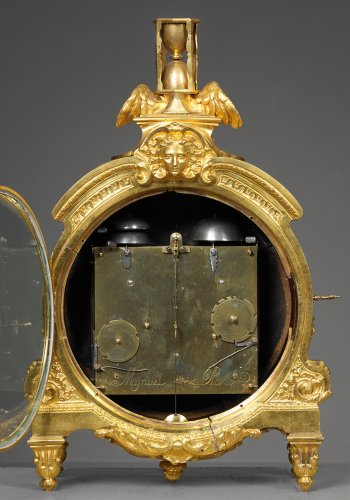 "Clocks  - French Régence period  ""Pendule de Cartonnier"""