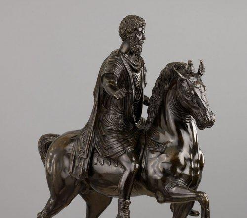 Italian Equestrian Statue Representing Marcus Aurelius -