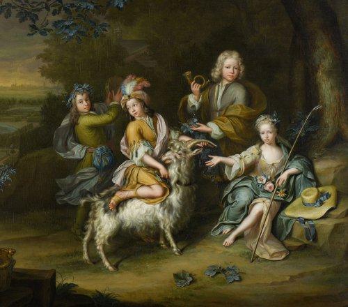 Hiëronymus van der Mij (1687-1761) - Paintings & Drawings Style