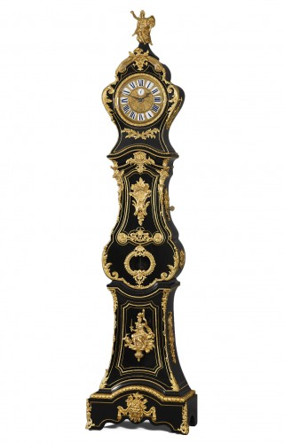 French Régence Long Case Clock