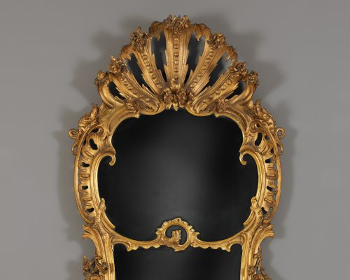 Mirrors, Trumeau  - Dutch Louis XV Mirror