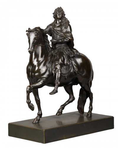 Equestrian Statue of Louis XIV, after Martin Desjardins