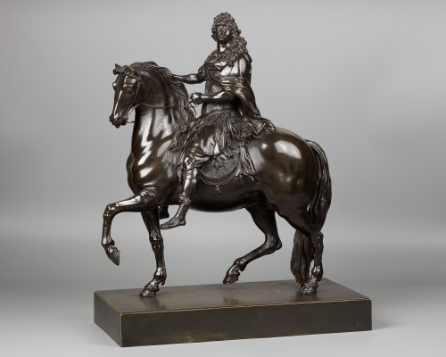 Sculpture  - Equestrian Statue of Louis XIV, after Martin Desjardins