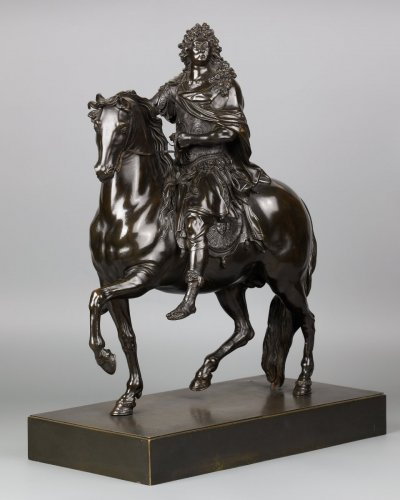 Equestrian Statue of Louis XIV, after Martin Desjardins -