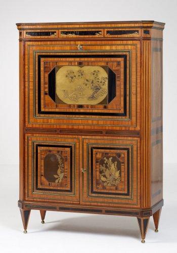 Furniture  - A Dutch Louis XVI Secretaire à abattant