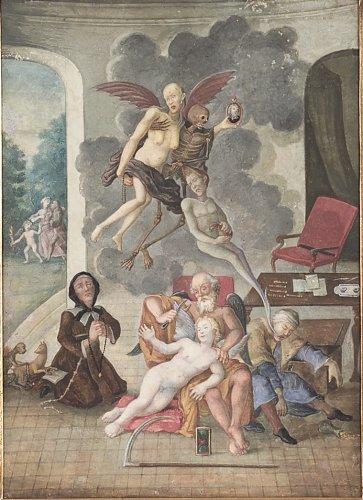 Two German Gouache Paintings - Paintings & Drawings Style