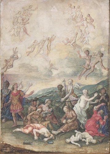 Paintings & Drawings  - Two German Gouache Paintings