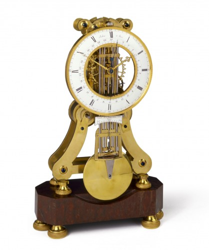 French Skeleton Clock