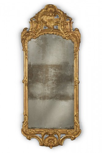 A Dutch Louis XV mirror