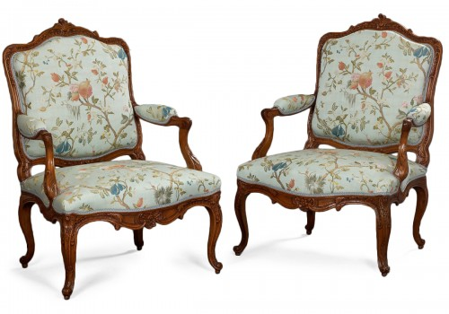 Pair of German Armchairs