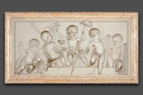 Jan Gerard Waldorp (1740-1808) - Allegory on Freedom - Paintings & Drawings Style