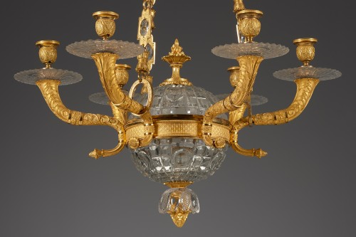 Lighting  - French Chandelier from the Restoration era, Pessoneaux & Colomb
