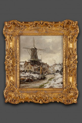 Lodewijk Franciscus Hendrik (Louis) Apol (The Hague  1850 – The Hague 1936) - Paintings & Drawings Style