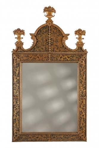 Swedish Louis XIV Mirror, Burchard Precht