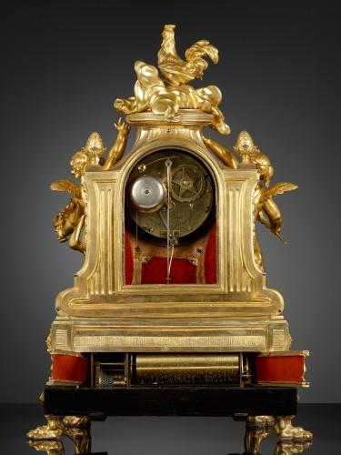 Horology  - French Louis XVI Musical Mantel Clock