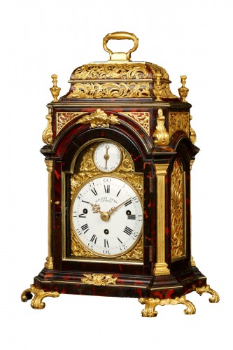 Musical English Table Clock for the Ottoman Market, ca. 1770