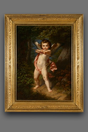 Paul Emil Jacobs (1802-1866) - Paintings & Drawings Style Napoléon III