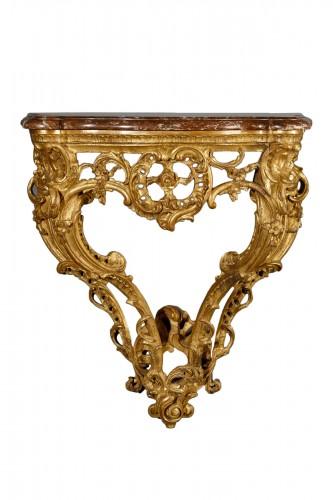 French Louis XV Console d'Applique