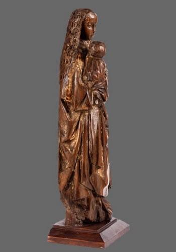 Virgin and Child, Possibly Mechelen School (Belgium), ca. 1500  -